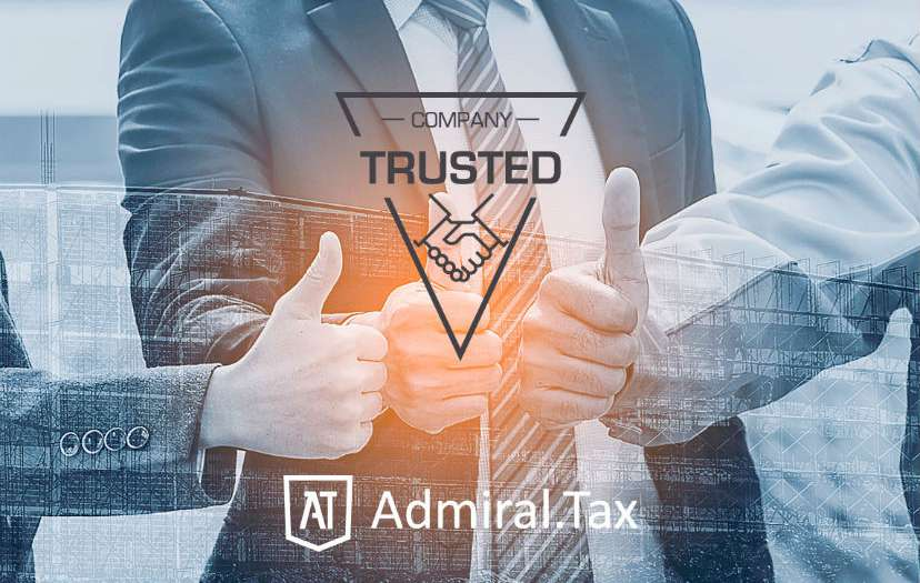 Admiral Tax - Trusted Company