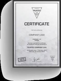 Certyfikat Trusted Company